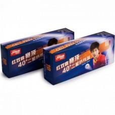 Míčky DHS CELL-FREE DUAL plast 40+ mm bíl. 2* (10 ks)