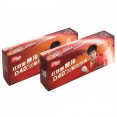 Míčky DHS CELL-FREE DUAL plast 40+ mm bíl. 3* (10 ks)